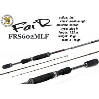 Спиннинг Pontoon21 FAIR 602 MLF (Секций:2, длина:1.82м, тест:3.0 - 15.0 гр.)