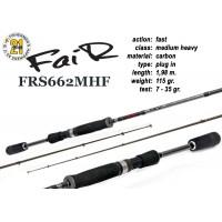 Спиннинг Pontoon21 FAIR 662 MHF (Секций:2, длина:1.98м, тест:7.0 - 35.0 гр.)