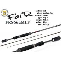 Спиннинг Pontoon21 FAIR 662 MLF (Секций:2, длина:1.98м, тест:3.0 - 15.0 гр.)