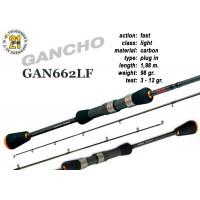 Спиннинг Pontoon21 GANCHO 662 LF (Секций:2, длина:1.98м, тест:3.0 - 12.0 гр.)