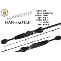 Спиннинг Pontoon21 GANCHO 702 MLF (Секций:2, длина:2.13м, тест:4.0 - 16.0 гр.)