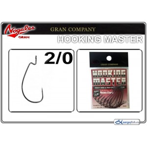Āķi NOGALES GRAN Hooking MONSTER BN - 2/0