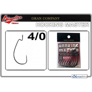 Āķi NOGALES GRAN Hooking MONSTER BN - 4/0