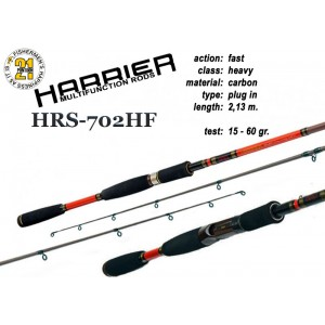 Спиннинг Pontoon21 HARRIER 702 HF (Секций:2, длина:2.13м, тест:15.0 - 60.0 гр.)