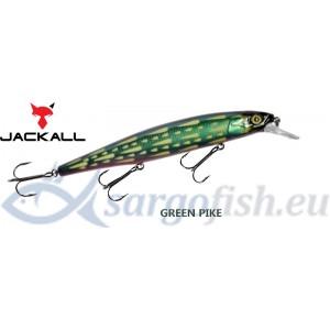 Воблер JACKALL MagSquad 128SP - Green Pike