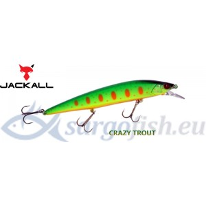 Воблер JACKALL ReRange 130SP - Crazy Trout