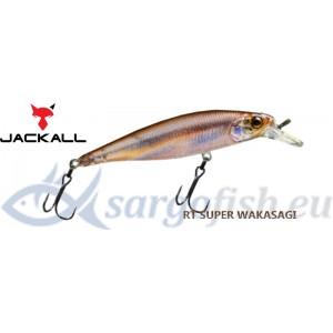 Воблер JACKALL Squad Minnow 80SP - RT Super Wakasagi