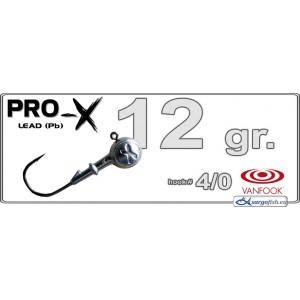 Džīgu galva PRO-X 4/0 - 12.0