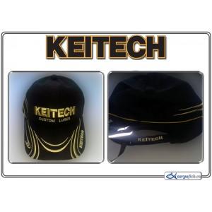 Кепка KEITECH Custom Luers (размер: n/a, цвет: черный, материал: терилен (водооталкиваюший + клипса))