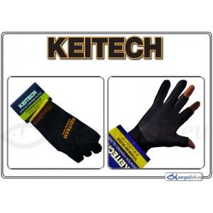 Перчатки KEITECH winter Titanium (размер: LLL, цвет: черный, материал: неопрен 1,2 mm.)