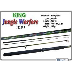 Makšķerkāts KING Jungle Warfare - 300, 30-60