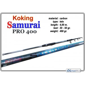 Makšķerkāts KOKING Samurai PRO - 400, 30-50