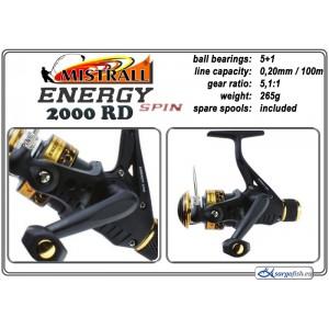 Spole MISTRALL Energy - 2000 RD