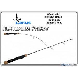 Makšķerkāts LARUS Platinum FROST 53 - light