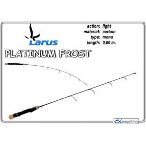 Makšķerkāts LARUS Platinum FROST 80 - light