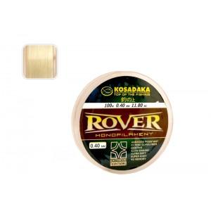 Леска KOSADAKA Rover 040 (0.400мм. / 100м. тест: 11.80кг.)