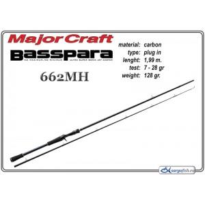 Makšķerkāts MAJOR CRAFT BassPARA 662MH - 199, 7-28
