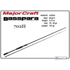 Makšķerkāts MAJOR CRAFT BassPARA 702H - 213, 10--42