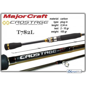 Makšķerkāts MAJOR CRAFT Crostage T782L - 234, 2-10