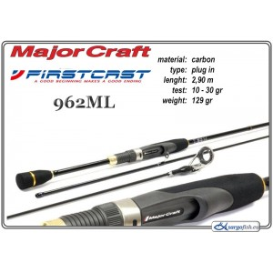 Makšķerkāts MAJOR CRAFT FirstCAST 962ML - 290, 10-30