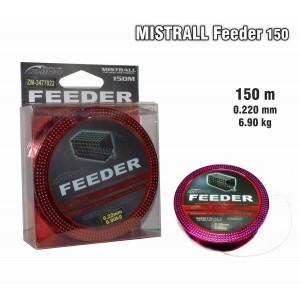Леска MISTRALL Feeder 022 (0.220мм. / 150м. тест: 6.90кг.)