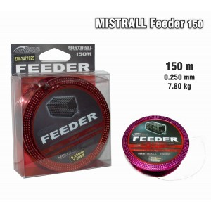 Леска MISTRALL Feeder 025 (0.250мм. / 150м. тест: 7.80кг.)