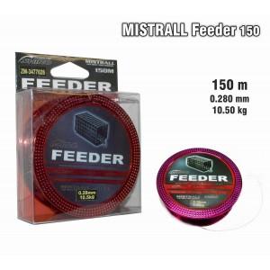 Леска MISTRALL Feeder 028 (0.280мм. / 150м. тест: 10.50кг.)