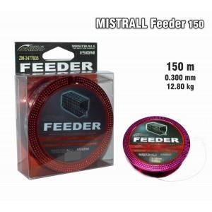 Леска MISTRALL Feeder 030 (0.300мм. / 150м. тест: 12.80кг.)