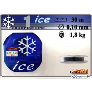 Леска MISTRALL ICE 010 (0.100мм. / 30м. тест: 1.80кг.)