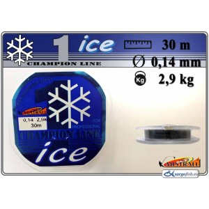Леска MISTRALL ICE 014 (0.140мм. / 30м. тест: 2.90кг.)