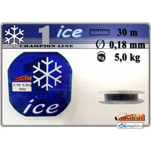 Леска MISTRALL ICE 018 (0.180мм. / 30м. тест: 5.00кг.)