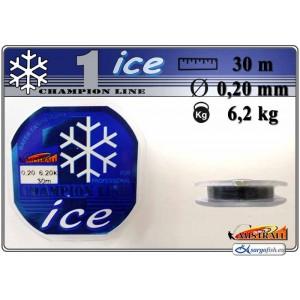Леска MISTRALL ICE 020 (0.200мм. / 30м. тест: 6.20кг.)