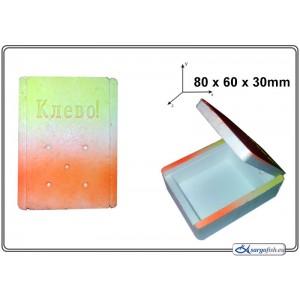 Мотыльница (материал: полистирол, разм.: 80x60x30mm, в уп. - 1 шт.)
