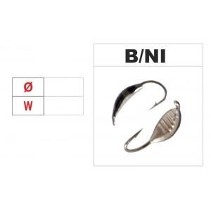 Мормышка КОБРА (диам.: 4.0мм., длина: 10.0мм., вес: 0.44г., с ушком, цвет B-SIL, в уп. 1 шт.)