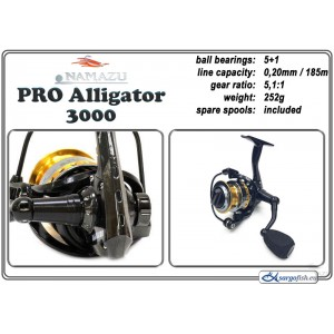 Spole NAMAZU Pro Alligator - 3000