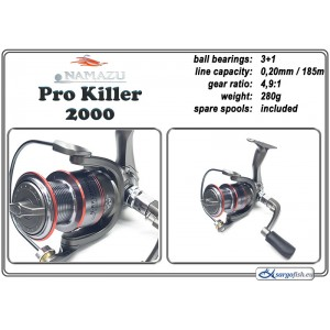 Spole NAMAZU Pro Killer - 2000