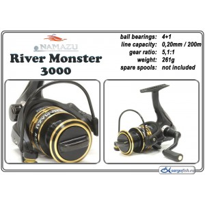 Spole NAMAZU River Monster - 3000
