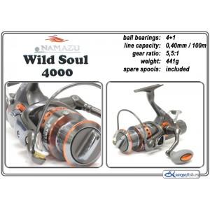 Spole NAMAZU Wild Soul - 4000