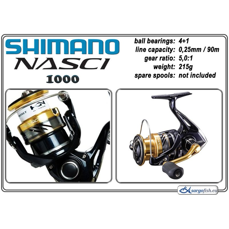 Spole SHIMANO Nasci - 1000
