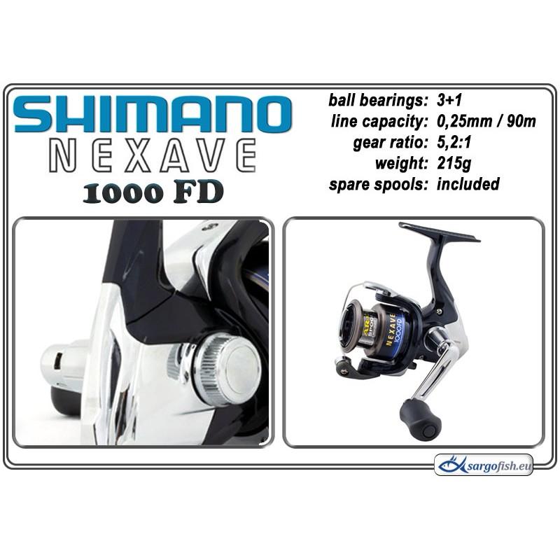 Spole SHIMANO Nexave - 1000 FD