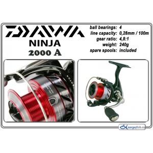 Катушка DAIWA «Ninja» - 2000