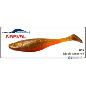 Silikona māneklis NARVAL Commander Shad 12 - 005