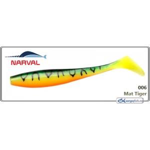 Silikona māneklis NARVAL Choppy Tail 10 - 006