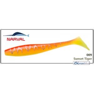 Silikona māneklis NARVAL Choppy Tail 10 - 009