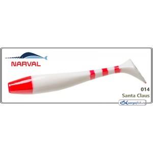 Silikona māneklis NARVAL Choppy Tail 10 - 014