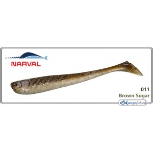 Silikona māneklis NARVAL Slim Minnow 16 - 011