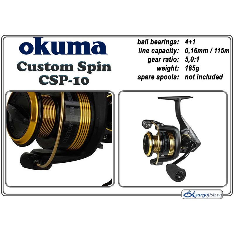 Spole OKUMA Custom SPIN CSP - 10