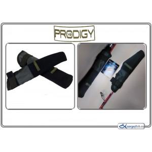 Aksesuārs Prodigy GREY,S TIP / BUTT protectors - black