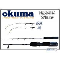 Спиннинг OKUMA HEXANA Winter (Секций:1 + 2, длина:0.32м, тест:light / medium)