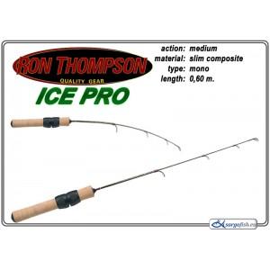 Спиннинг Ron Thompson ICE PRO 60 Medium (Секций:1, длина:0.60м, тест: Medium гр.)